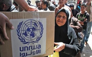 الصورة: الصورة: ترحيب دولي وعربي باستئناف واشنطن مساعداتها لـ «أونروا»