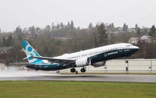 الصورة: الصورة: «بوينغ» توصي بمعالجة مشكلة «محتملة» في «737 ماكس»