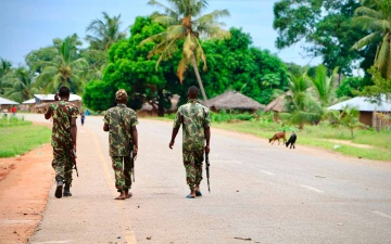 الصورة: الصورة: العثور على 12 جثة مقطوعة الرأس في موزمبيق
