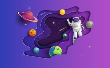 الصورة: الصورة: منصات وبرامج  تعزز الشغف بعلوم الفضاء