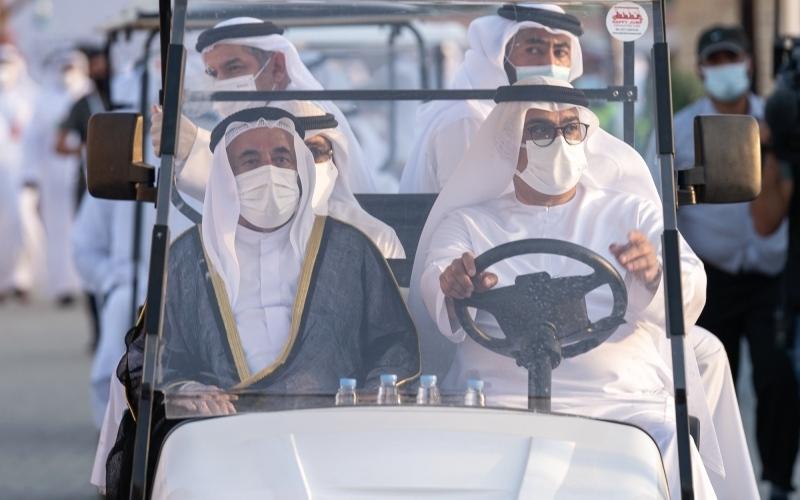 الصورة: الصورة: سلطان القاسمي يفتتح أيام الشارقة التراثية