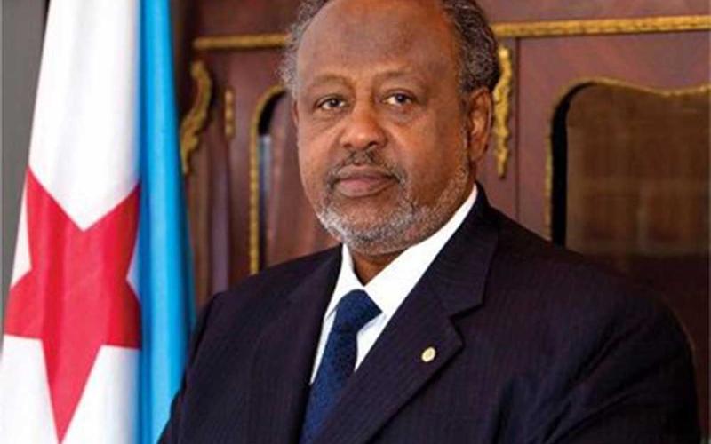 الصورة: الصورة: إعادة انتخاب إسماعيل عمر جيلة رئيسا لجيبوتي