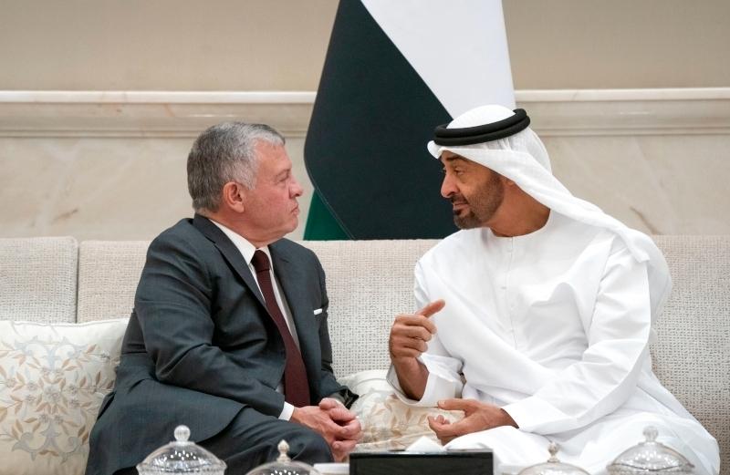 الصورة : علاقات وثيقة تربط قيادتي وشعبي الإمارات والأردن   أرشيفية