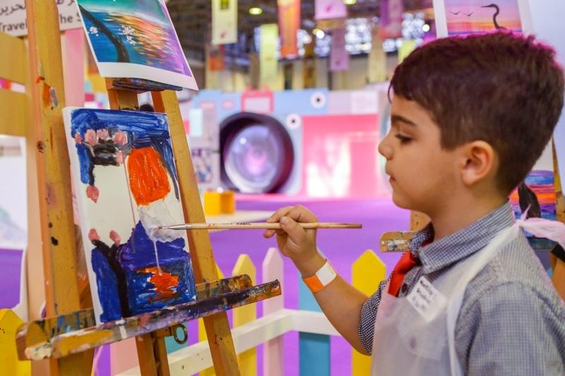الصورة : من فعاليات مهرجان الشارقة القرائي للطفل في نسخة العام الماضي | البيان