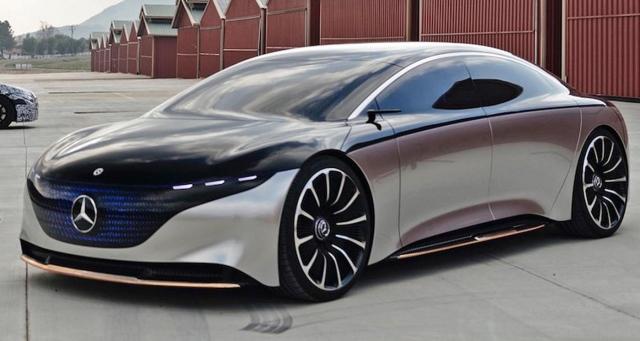 طرح سيارة مرسيدس الكهربائية الأسبوع المقبل  image