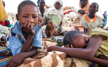 الصورة: الصورة: ماجد.. النازح من دارفور يحلم بمقعد دراسي