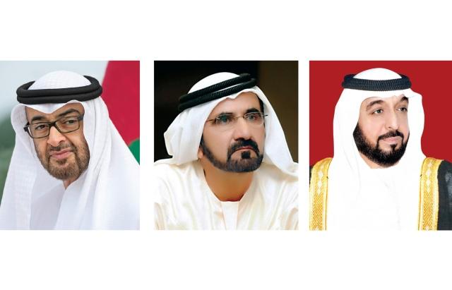 خليفة ومحمد بن راشد ومحمد بن زايد يهنئون قادة الدول العربية والإسلامية بحلول رمضان