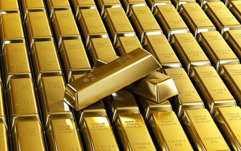 الصورة: الصورة: الذهب يرتفع مع انخفاض الدولار