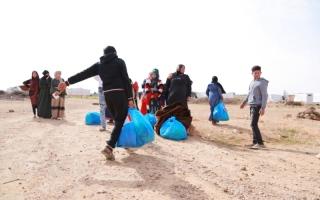 الصورة: الصورة: الأردن.. طلبة سوريون يوقدون القناديل لمساعدة اللاجئين