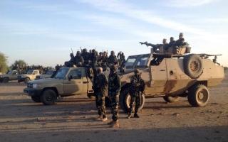 الصورة: الصورة: التسلل الإرهابي يلقي بظلاله على الحدود بين ليبيا وتشاد