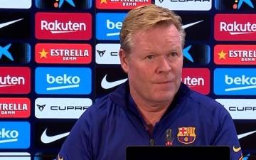 الصورة: الصورة: كومان يرفض ربط مستقبله مع برشلونة بنتيجة نهائي كأس إسبانيا
