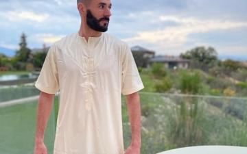 الصورة: الصورة: كريم بنزيما يوجه رسالة للصائمين في رمضان