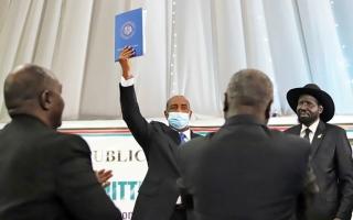 الصورة: الصورة: السودان حماية المدنيين  أكبر تحديات شركاء السلام