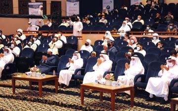 الصورة: الصورة: «دبي الدولية للقرآن الكريم» تختبر 4 متسابقين في يومها الثاني