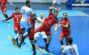 الصورة: الصورة: مباراة فاصلة بين الأهلي والزمالك لتحديد بطل الدوري المصري لكرة اليد