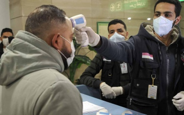 الصورة: الصورة: مصر تكشف عدد إصابات فيروس كورونا