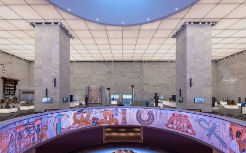 الصورة: الصورة: مصر تفتح أبواب قاعة المومياوات الملكية بمتحف الفسطاط للزوار غداً الأحد