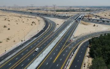 """الصورة: الصورة: """"طرق دبي"""" تفتتح مشروع تطوير محور الخوانيج لتعزيز الربط بين دبي والشارقة"""