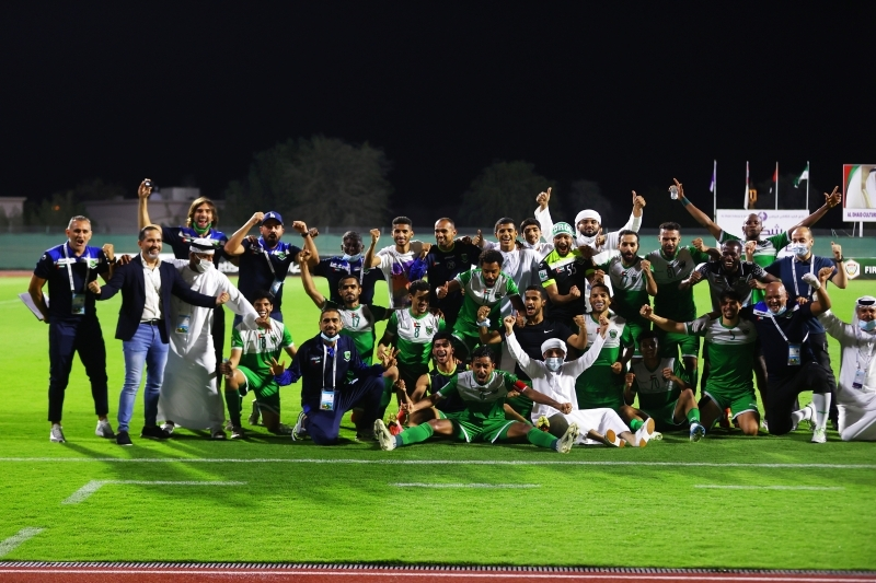 الصورة : احتفالية العروبة باللقب الغالي   تصوير: زيشان أحمد