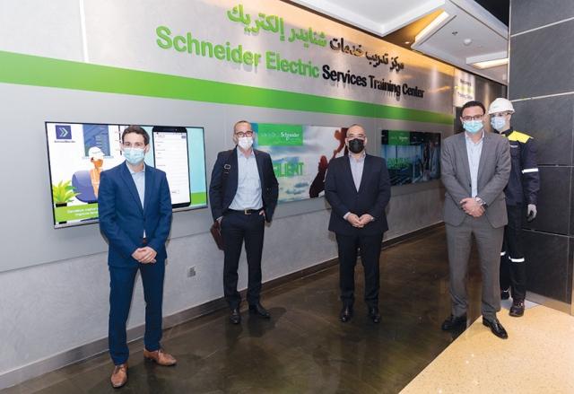 «شنايدر إلكتريك» تفتتح «مركز التدريب على الطاقة الآمنة» بواحة دبي للسيليكون