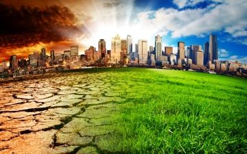 الصورة: الصورة: دراسة: التغيّر المناخي سيكبّد الاقتصاد العالمي خسائر هائلة