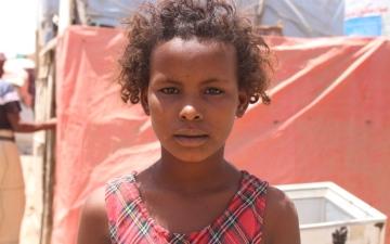 الصورة: الصورة: وسيلة تحلم بالسلام والعودة إلى مدرستها