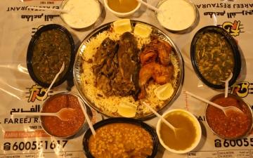 الصورة: الصورة: الفريج قائمة تفيض بأسرار المطبخ العربي