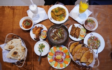 الصورة: الصورة: كراتشي دربار 4 عقود في رحاب المطبخ الباكستاني