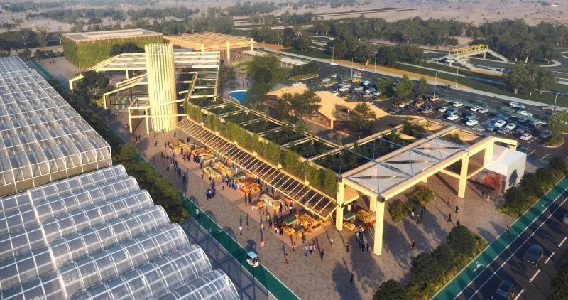 الصورة : وادي تكنولوجيا الغذاء منطقة اقتصادية متكاملة تستقطب أصحاب الأفكار الإبداعية الجديدة   تصوير: خليفة اليوسف