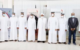 الصورة: الصورة: «الفجيرة الثقافية» تكرّم 3 شخصيات و8 فائزين بجائزة القرآن الكريم