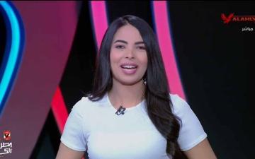 """الصورة: الصورة: قناة الأهلي المصري توقف مذيعة تمنَّت هزيمة """"القلعة الحمراء"""""""