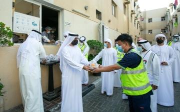 الصورة: الصورة: «إسلامية دبي» توزع 1.4 مليون وجبة على المستحقين خلال رمضان