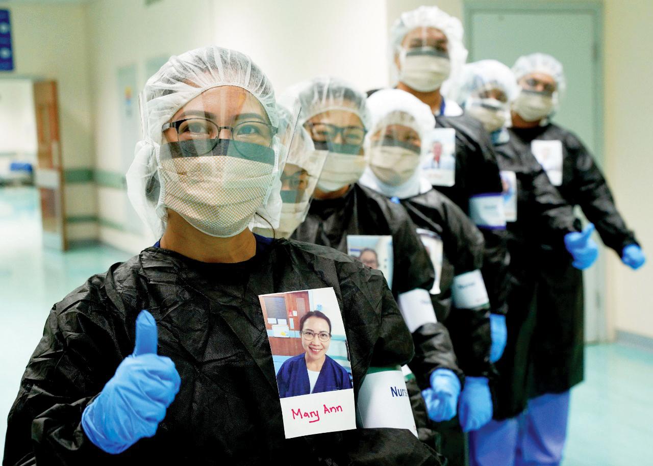 الصورة : جهود عظيمة تبذلها الكوادر التمريضية لصحة وسلامة المرضى | أرشيفية