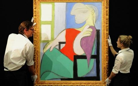 الصورة: الصورة: بيع لوحة لبيكاسو مقابل 103 ملايين دولار