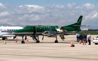 الصورة: الصورة: في حادث مروع.. تصادم طائرتين بأمريكا