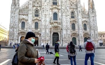 الصورة: الصورة: إيطاليا ترفع قيود الحجر الصحي عن القادمين من أوروبا وبريطانيا وإسرائيل