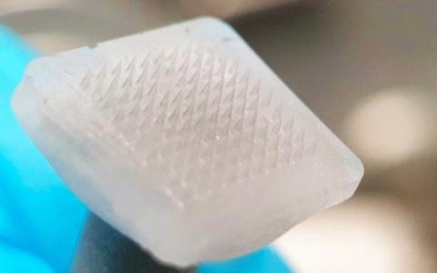 الصورة: الصورة: إبر مجهرية ثلجية بديلاً للإبر التقليدية