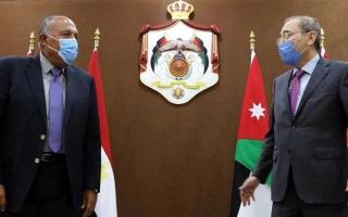 الصورة: الصورة: مصر والأردن تؤكدان ضرورة التحرُّك الجدي نحو استئناف مسار عملية السلام