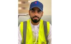 الصورة: الصورة: ماجد محمد يرد جميل الوطن بـ 15 ساعة تطوع يومياً