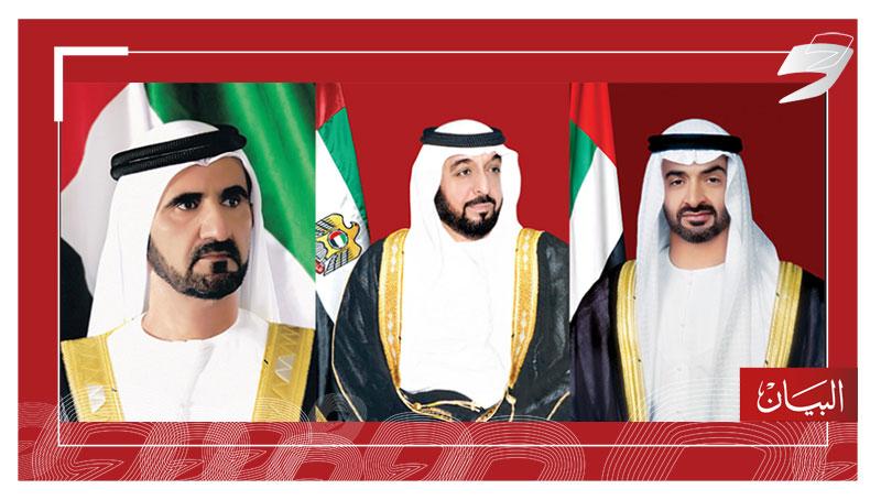 رئيس الدولة ومحمد بن راشد ومحمد بن زايد يهنئون ملك النرويج باليوم الوطني