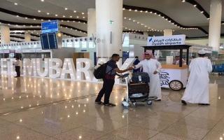 """الصورة: الصورة: 10 آلاف سعودي سافروا إلى الخارج بعد 24 ساعة من رفع """"التعليق"""""""