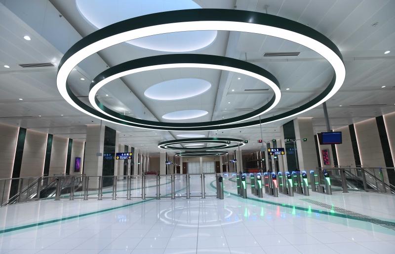 الصورة : محطة مجمع دبي للاستثمار