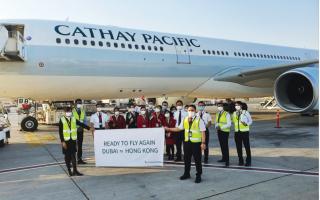 الصورة: الصورة: كاثي باسيفيك تزيد عدد الرحلات بين دبي وهونغ كونغ