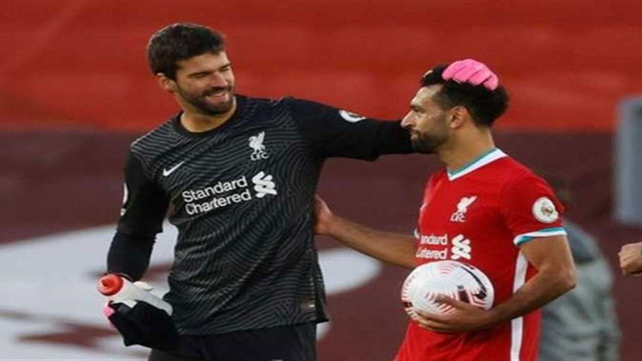 محمد صلاح: هدف أليسون أروع ما قدمه ليفربول