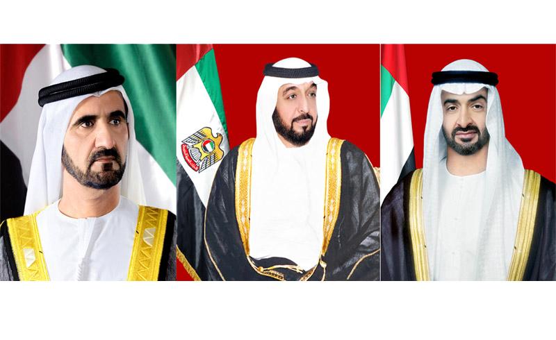 رئيس الدولة ونائبه ومحمد بن زايد يعزون خادم الحرمين الشريفين بوفاة الأميرة الجوهرة بنت محمد بن عبدالعزيز