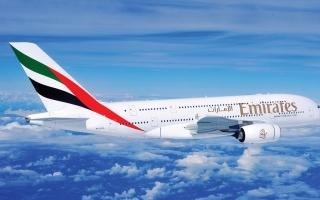 الصورة: الصورة: «طيران الإمارات» أفضل ناقلة جوية في العالم
