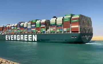 الصورة: الصورة: هيئة قناة السويس تعلن تعثر المفاوضات مع مالك السفينة إيفر غيفن