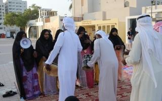 الصورة: الصورة: حمامة عبيد: «الدان» فن شعبي ثري بالوجد والشجن