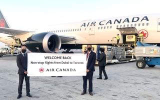 الصورة: الصورة: «طيران كندا» تستأنف عملياتها في مطار دبي بـ3 رحلات أسبوعياً