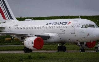 الصورة: الصورة: هبوط طائرة فرنسية اضطرارياً بسبب إنذار كاذب